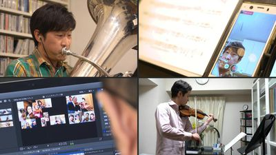 Japan telework orchestra strikes a chord in coronavirus gloom