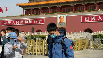 Coronavirus: Three-minutes of silence by Tiananmen Square