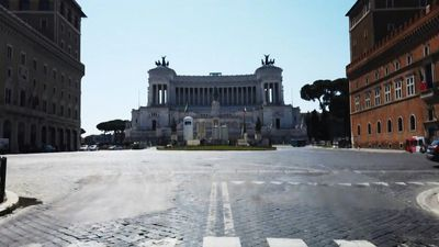 Coronavirus: Rome empty, nearly one month after start of lockdown