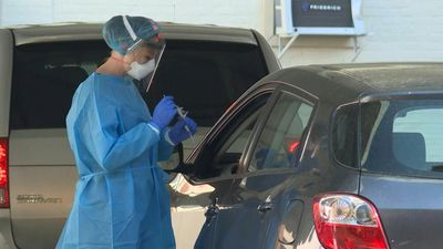 Drive-through coronavirus testing site opens in downtown Washington