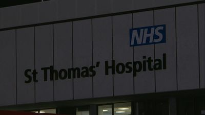 Images of St Thomas' Hospital in London where British PM Boris Johnson was admitted to ICU