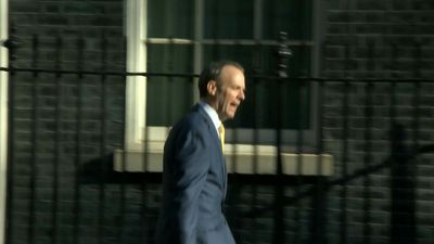 Coronvirus: Britain's Foreign Secretary Raab arrives to chair government coronavirus meeting