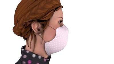 Home-made face coverings against the virus