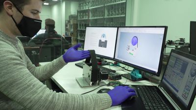 Coronavirus: Kosovo company harnesses 3D printers to develop a ventilator