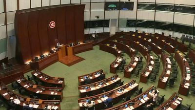 Hong Kong's legislature to debate controversial national anthem bill