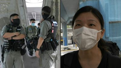 'Like martial law': HK police conduct stop and searches ahead of anthem debate