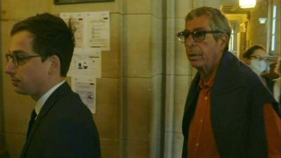 Money laundering: Patrick Balkany arrives at Paris's Court of Appeal