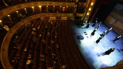 Zagreb theatre reopens with gala concert