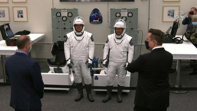 Elon Musk talks to astronauts as SpaceX-NASA mission is set to proceed