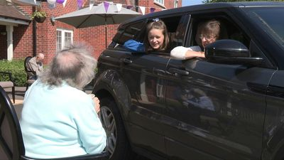 British care home opens drive through for residents and visitors