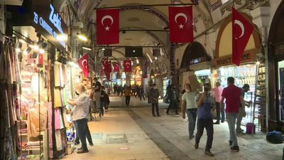 Istanbul Grand Bazaar reopens following coronavirus closure