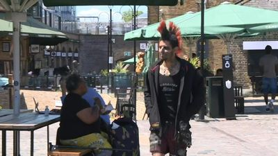 London's historic Camden Market reopens as lockdown measures eased