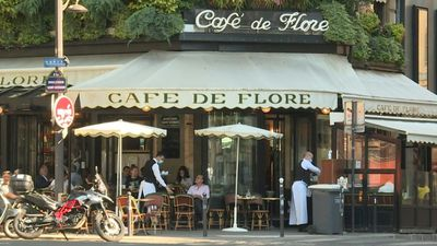 Cafés reopen in Paris' iconic St-Germain-des-Prés