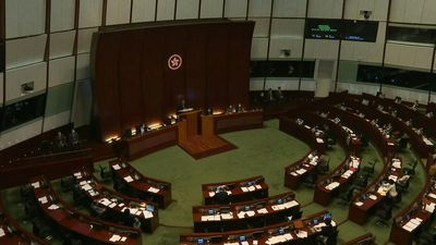 Hong Kong legislature resumes debate on national anthem law ahead of vote