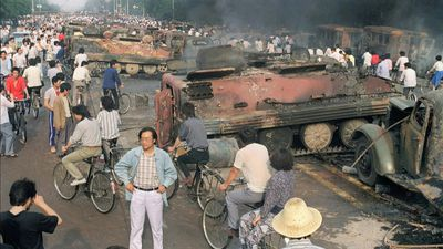 June 4: Tiananmen crackdown anniversary