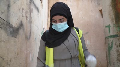 Gen Z takes on COVID: Palestinian refugee volunteers to battle virus in Lebanon camp