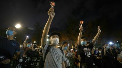 Thousands in Hong Kong defy Tiananmen vigil ban