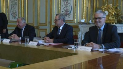 French Assembly presidents meet Macron at Elysee
