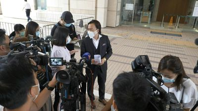 Hong Kong man first to be charged under new China security law