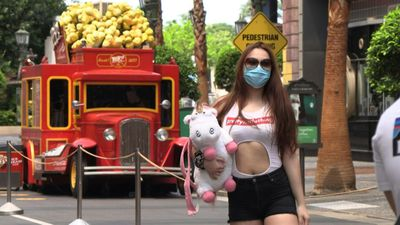 Singapore's Universal Studio reopens after virus restrictions lifted