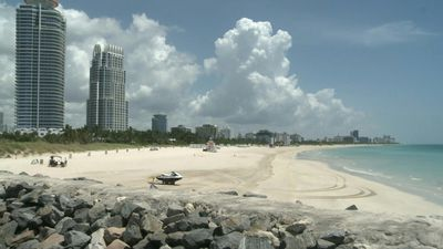 Miami: South Pointe beach closed for July 4th weekend as coronavirus cases surge