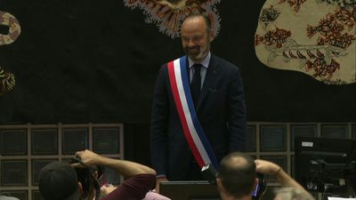 Ex-French PM Edouard Philippe reelected mayor of Le Havre