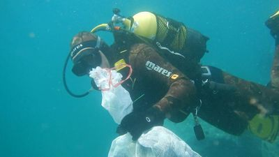 "Spanish city organises seabed clean-up to end ""plastic tide"""