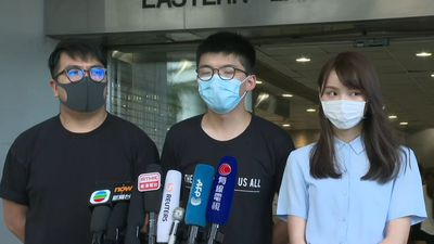 Democracy activist Joshua Wong says world 'must stand with Hong Kong'