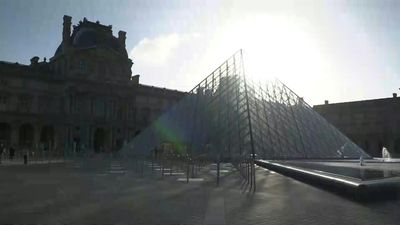 France's Louvre museum as it reopens after 16-week virus shutdown