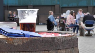 Scottish beer gardens reopen