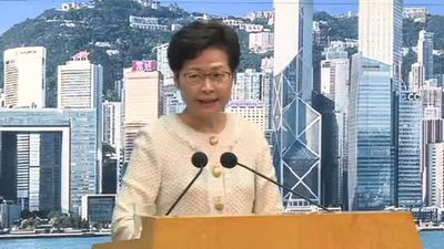 Hong Kong leader says security law 'not doom and gloom' for city