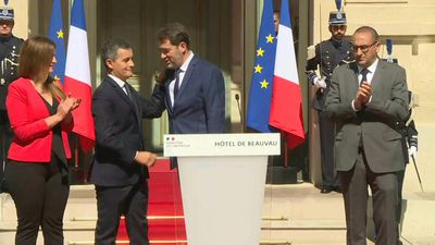 France's interior ministry passes from Castaner to Darmanin