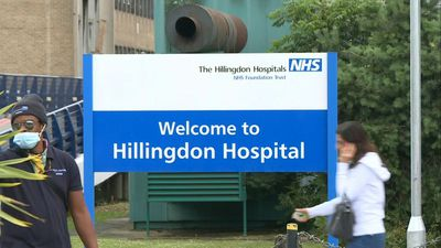 Virus outbreak at hospital in UK PM's constituency