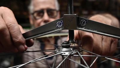 Veteran Turin bicycle mechanic carries out repairs others call impossible