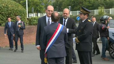 Newly-named French ministers meet judicial authorities