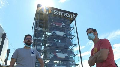 Smart factory employees protest possible French factory closure