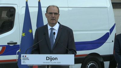 French PM lauds security forces during visit to Dijon