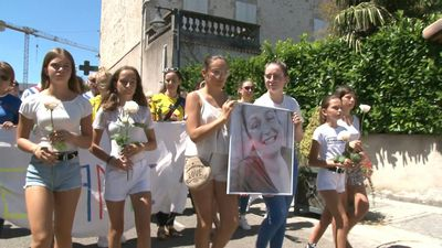 Procession held for French gendarme killed by hit-and-run driver