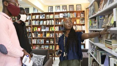 'Decolonised' library showcases Black and African literature in Ghana