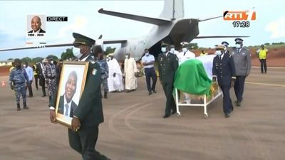 Body of late Ivorian prime minister arrives in Korhogo