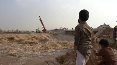 Flash floods hit northern Yemen