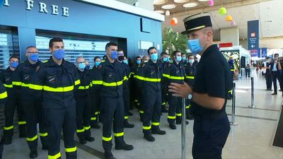 French firefighters prepare to leave for Beirut to help aid efforts