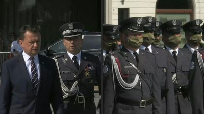Military ceremony in Warsaw after Andzej Duda sworn in for second term as president