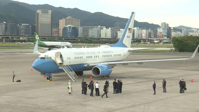 Trump official lands in Taiwan for highest-level US visit since 1979