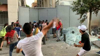Protesters and security forces clash again in Beirut