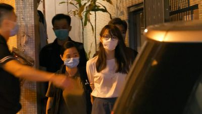 Hong Kong democracy activist Agnes Chow arrested under security law