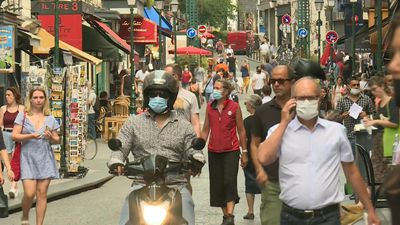 Mandatory masks rolled out in Paris in certain public areas