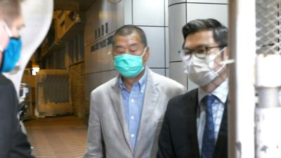 Hong Kong pro-democracy media tycoon Jimmy Lai released on bail
