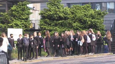 Scottish children go back to school for the first time in five months