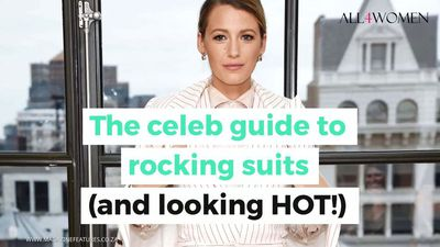 Boss babes! The celeb guide to rocking suits (and looking hot!)